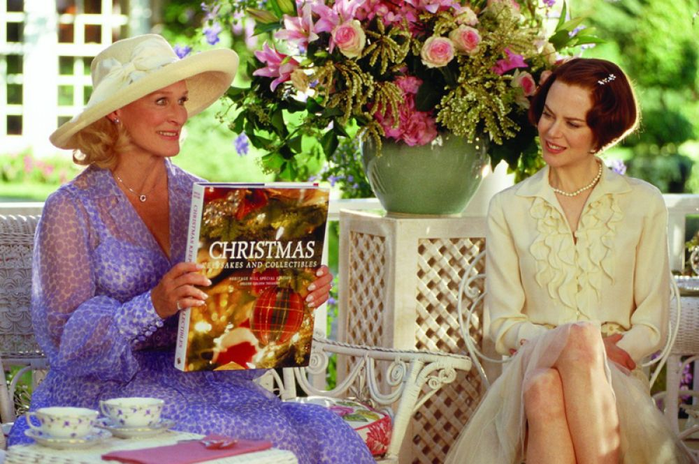 Николь Кидман в фильме-ремейке одноимённого фильма 1974 года «Степфордские жёны» (2004).