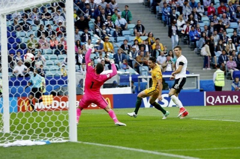 Германия была сильнее Новой Зеландии в матче 19 июня, хотя привезла в Россию второй состав.