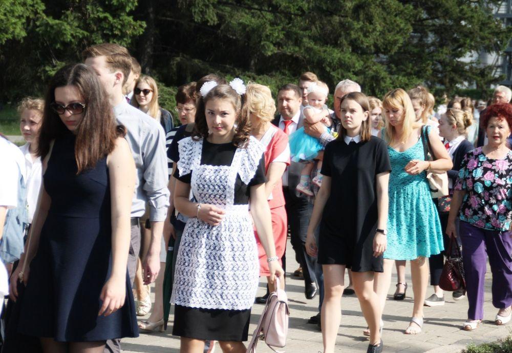 19 июня в центр Иркутска съехались лучшие выпускники города.