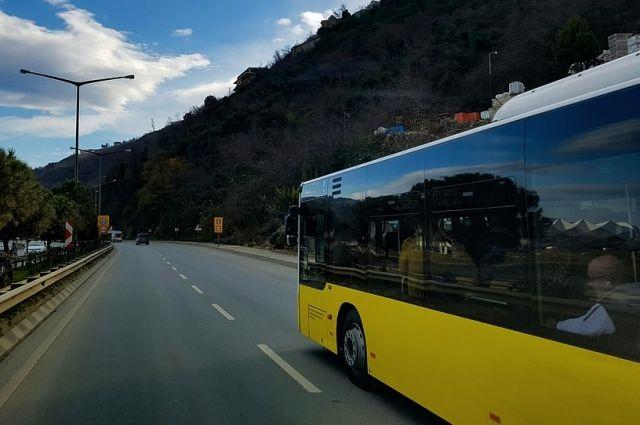 Водитель междугороднего автобуса умер в дороге.