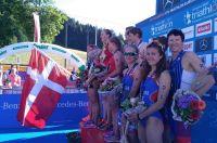 сборная России - бронзовый призер чемпионата Европы по триатлону.