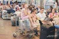 Пассажиры заждались посадки в самолет