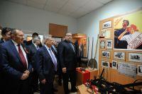 В церемонии открытия музея приняли участие руководство края, депутаты и коллеги Ивана Богачёва по аграрному цеху.
