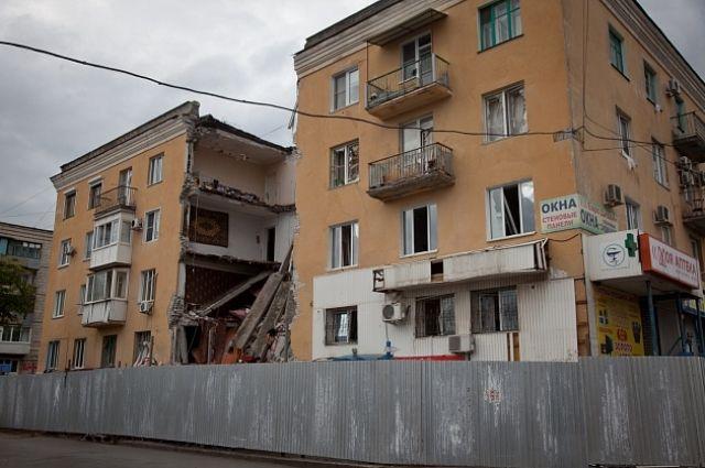 Неменее  40 семей, разрушенного дома наУниверситетском проспекте, получили жилищные сертификаты