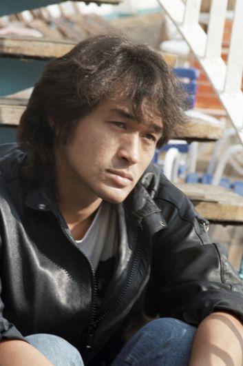 Солист рок-группы «Кино» Виктор Цой, 1989 год.