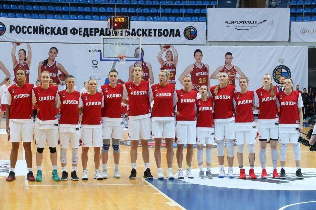 Женская сборная РФ проиграла в1/8 финала Евробаскета