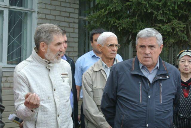 Фоат Шамсиев (справа).