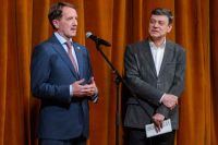 Губернатор Алексей Гордеев и  художественный руководитель фестиваля  Михаил Бычков с благодарностью отметили воронежского зрителя.
