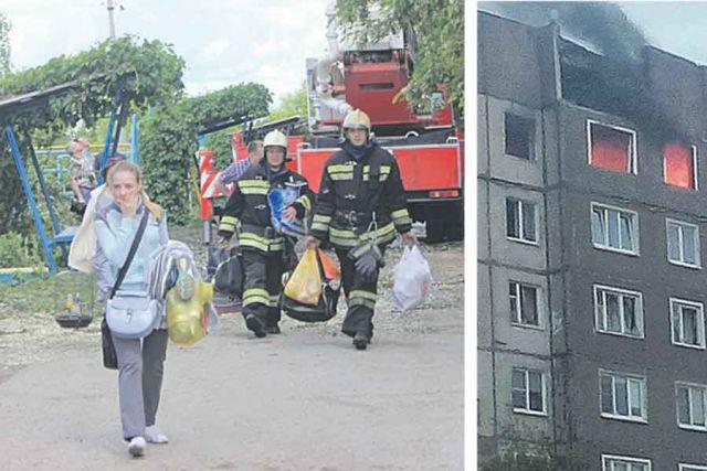 Из дома срочно эвакуировали более 200 жильцов.