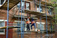 Капремонт жилых домов в Старом Осколе: в порядок приводят дом № 25 в микрорайоне «Горняк».
