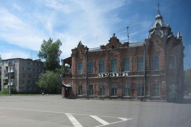 Бийский краеведческий музей, ныне Музей Чуйского тракта.