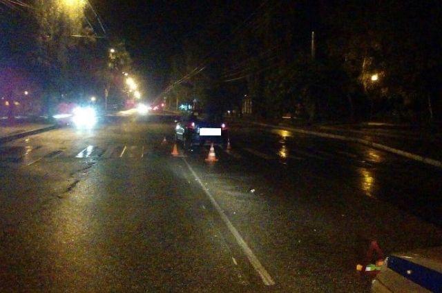 ВСтаврополе иностранная машина сбила 26-летнего молодого человека напешеходном переходе