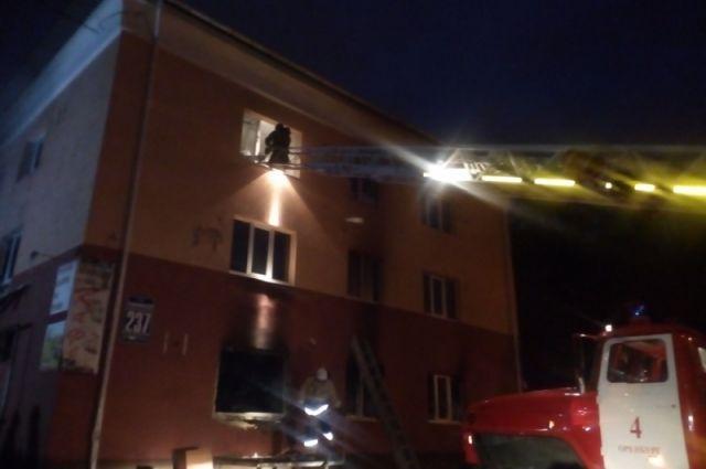 В Оренбурге скончался пострадавший во время ЧП на ул. Томилинской
