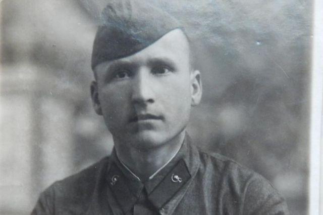 Иван Филимошин в рабоче-крестьянской армии 6 января  1940 года.