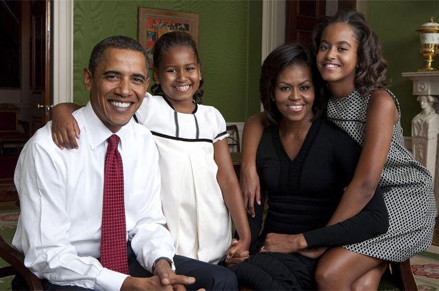 Правда ли, что у Обамы есть дочь Наташа?