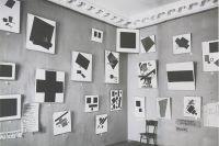 «Чёрный квадрат» в «красном углу» выставки «0,10». 1915 г.