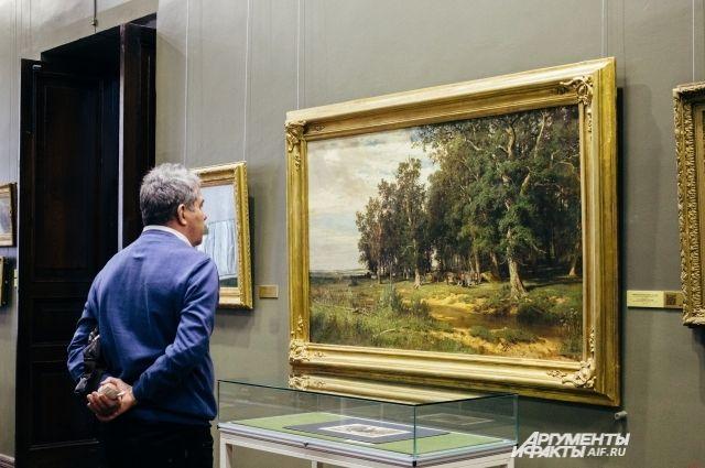 Навокзале Пермь-II открылась выставка живописи