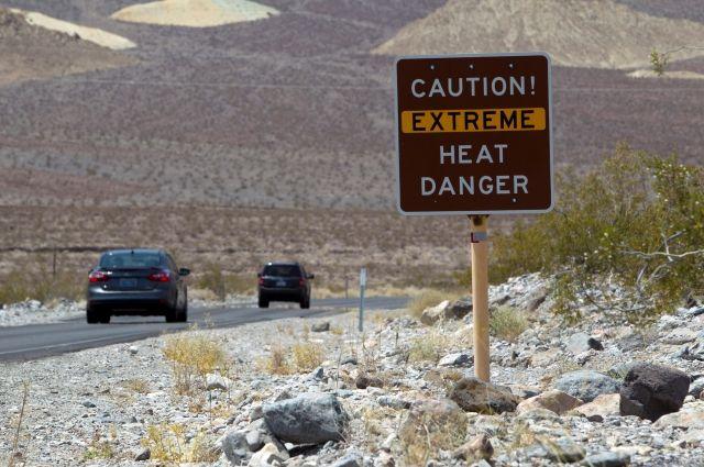ВСША из-за аномальной жары погибли 4 человека