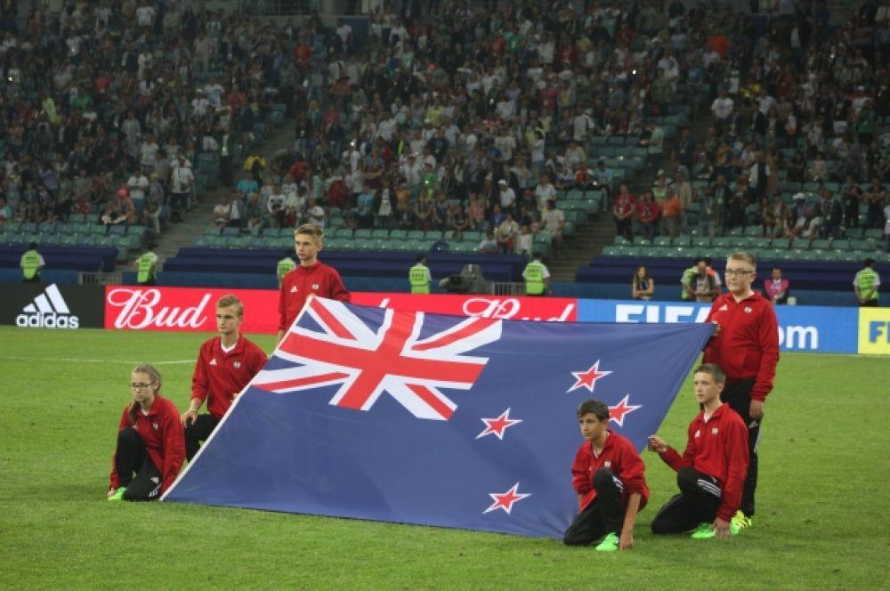 А это флаг Новой Зеландии.