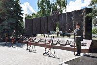 Композиция посвящена периоду истории от Александра Невского до Великой Отечественной войны.