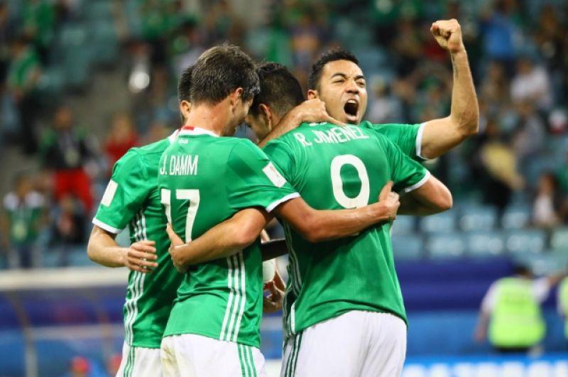 А это уже аналогичная радость у мексиканцев.