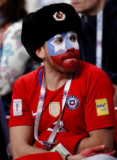 2500 тысячи чилийских болельщиков приехали в Казань.