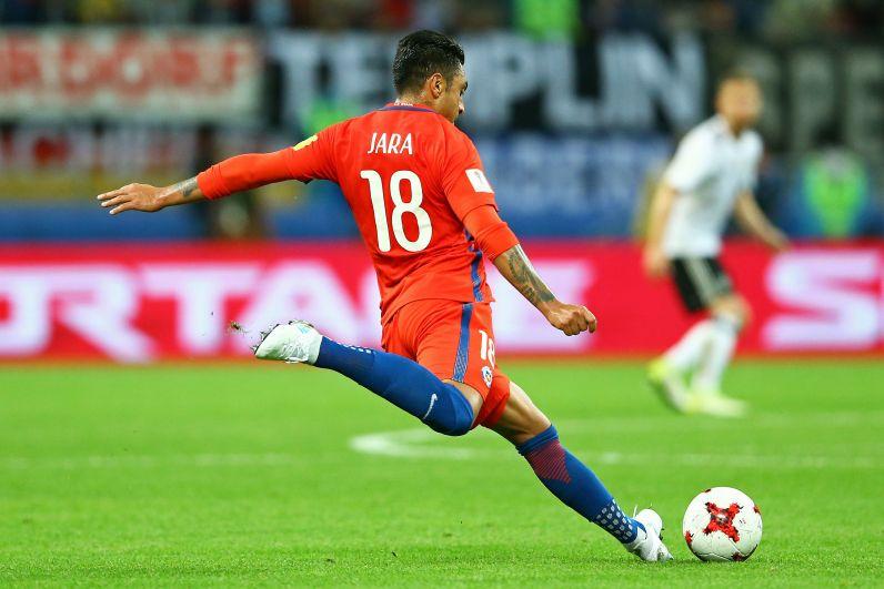 Чилийцы забили гол в течение первых 6 минут игры.