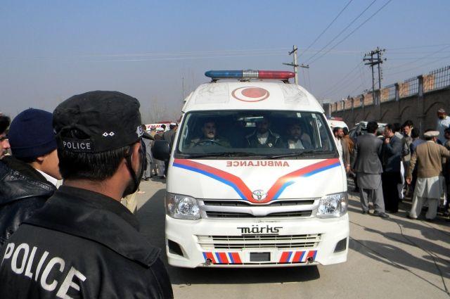 В Пакистане у полицейского офиса произошел взрыв, есть жертвы