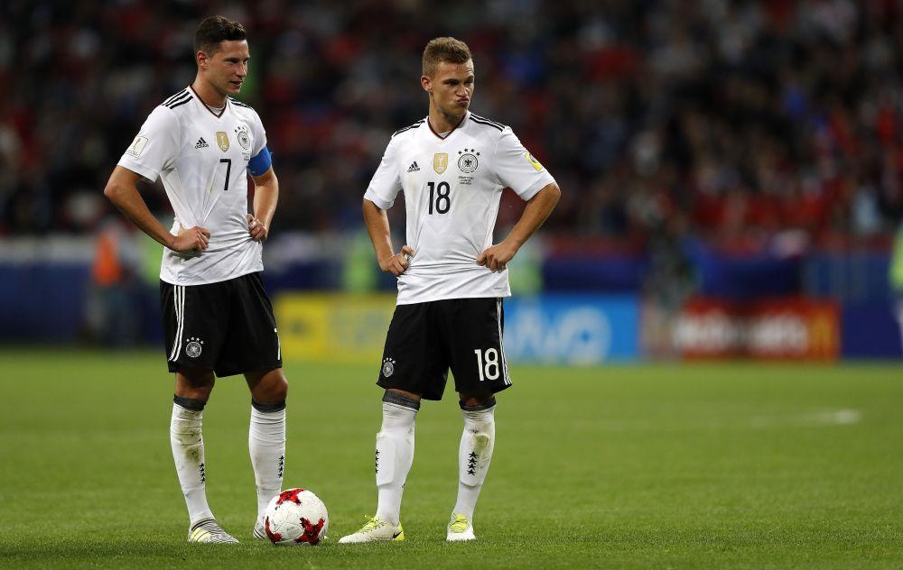 Процент точных передач у немецкой сборной был невелик.