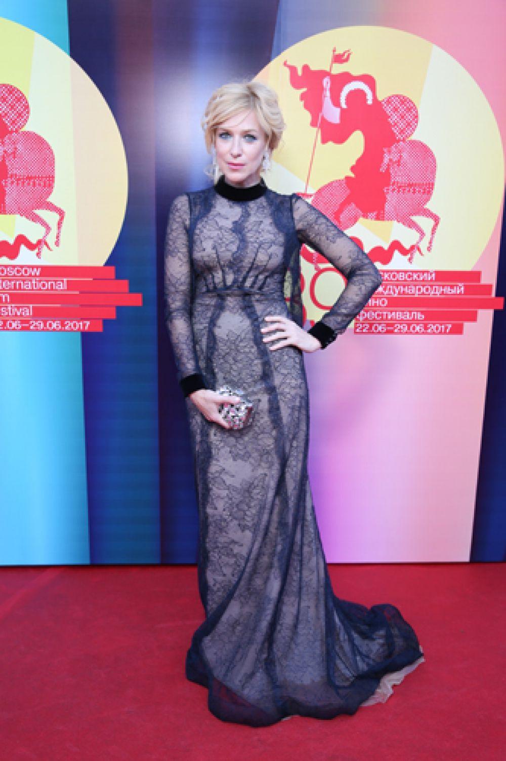 Актриса Ирина Гринева.