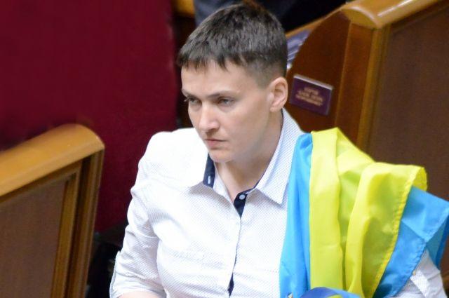 Савченко рассказала, почему показала в Раде средний палец Гройсману
