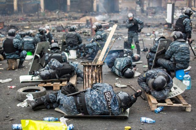 Обвиняемые в убийстве радикалов экс-бойцы «Беркута» объявили голодовку
