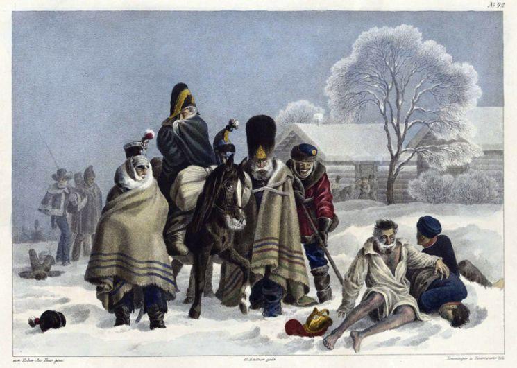 Около города Сморгонь, 3 декабря 1812 года.