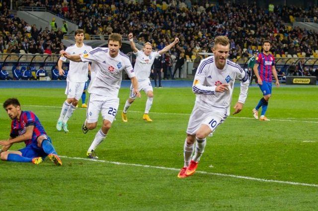 Футболисты киевского клуба