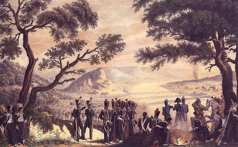На берегу Немана, 25 июня 1812 года.