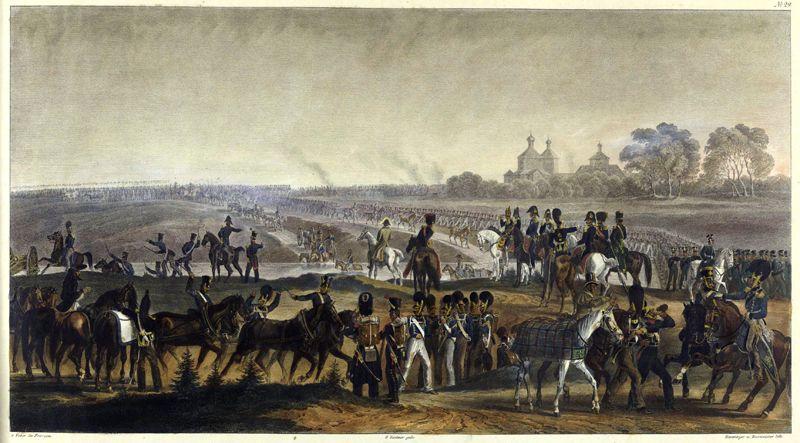 Переход через Днепр, 14 августа 1812 года.