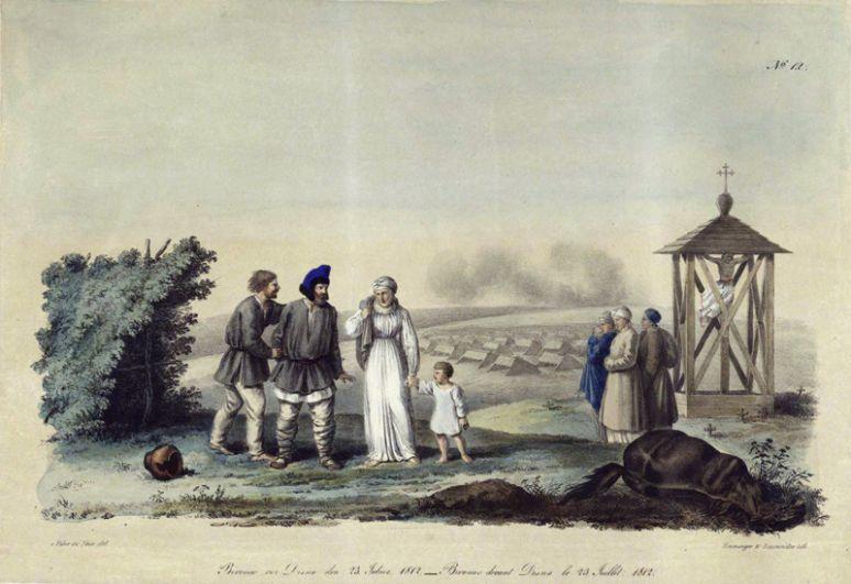 Бивак около Дисны, 23 июля 1812 года.