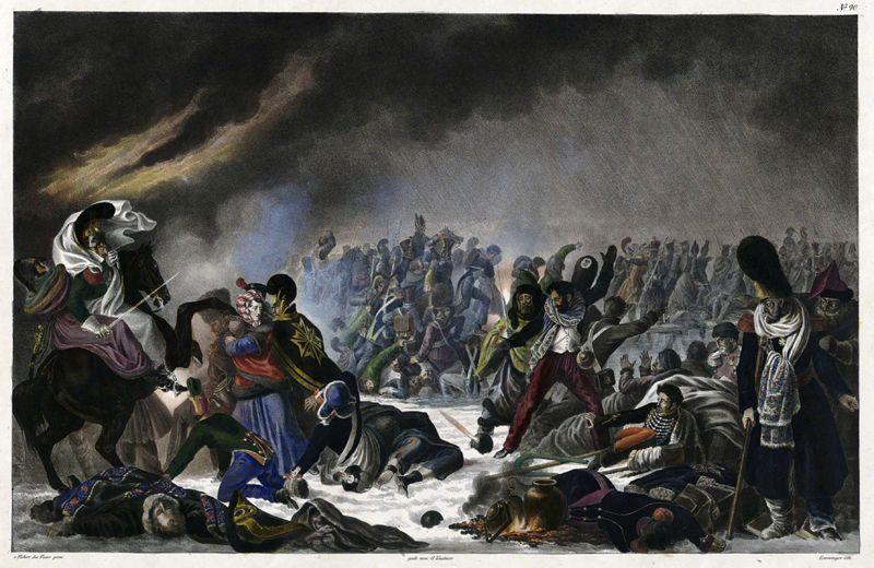 Переправа через Березину, 28 ноября 1812 года.