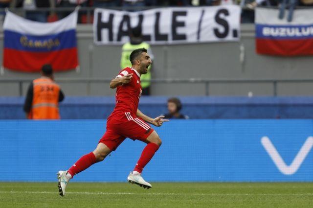Самедов забил первый и единственный гол в матче с Мексикой.