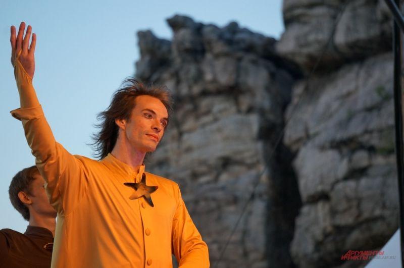 Ведущий солист театра Алексей Колбин в роли Меркуцио.