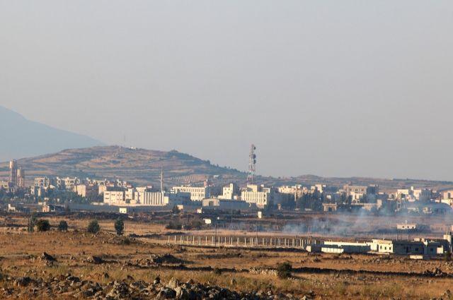 ВВС Израиля атаковали технику «Джебхат ан-Нусры», а не войска Сирии – СМИ