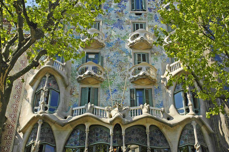 Дом Бальо, Барселона.