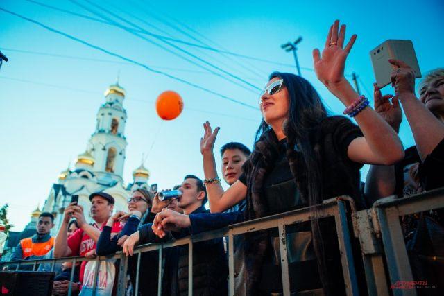 Площадки «Ночи музыки» вЕкатеринбурге посетили 150 тыс. человек