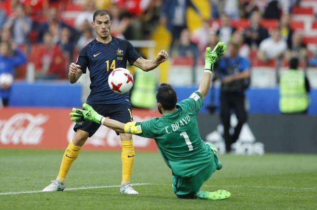 Сборная Германии пробилась вполуфинал Кубка Конфедераций