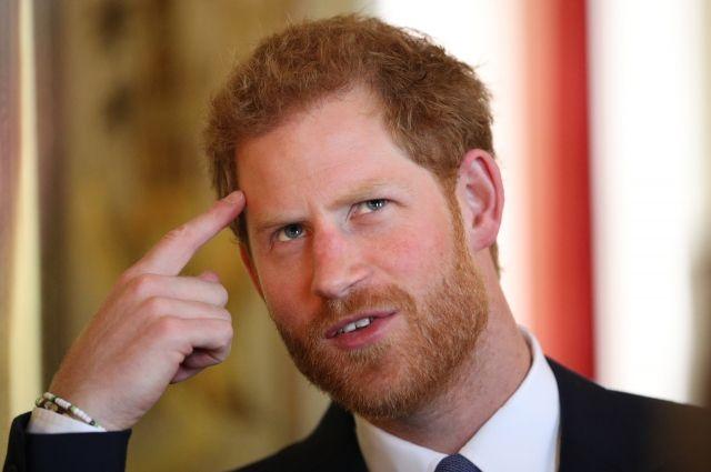 Принц Гарри рассказал о желании отказаться от привилегий королевской семьи