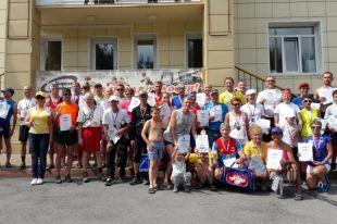 Соревнования проходили на лыжероллерной трассе в Топкинском районе.