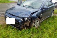 "Водитель ""Mitsubishi Lancer "" в момент ДТП имел признаки опьянения."