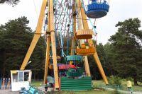 Главный аттракцион парка Гагарина готов к приёму посетителей.