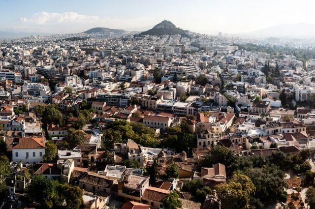 Афины погрязли в мусоре из-за бастующих коммунальщиков
