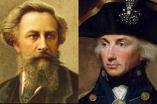 Алексей Толстой и Горацио Нелсон.